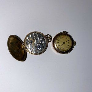 Antique Lady Raymond Elgin USA Gold Filled Watch